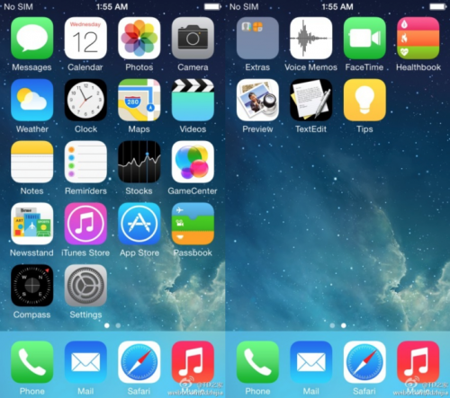 iOS 8 angebliche Icons weibo 9to5mac.com