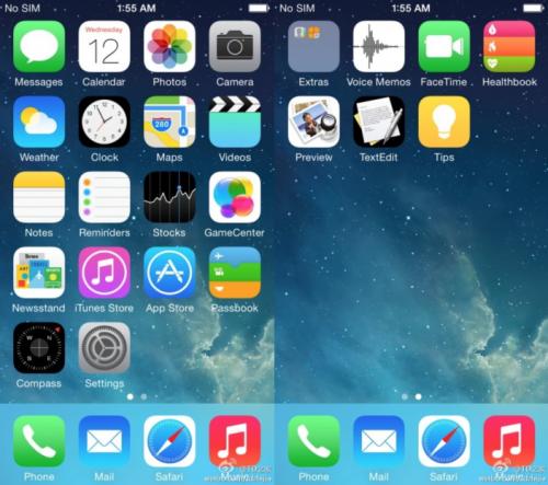 iOS 8 angebliche Icons weibo 9to5mac.com
