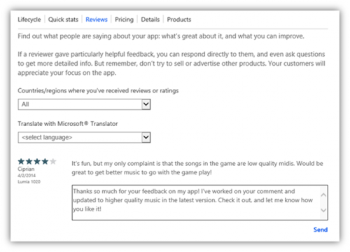 Antwort auf Kommentare Microsoft