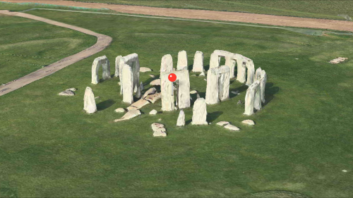Apple Maps Stonehenge 3D
