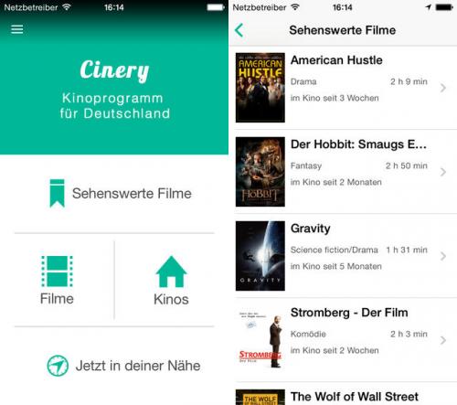 Cinery Screen1