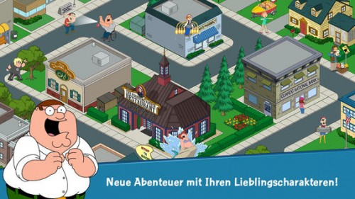 Family Guy Game Screen2