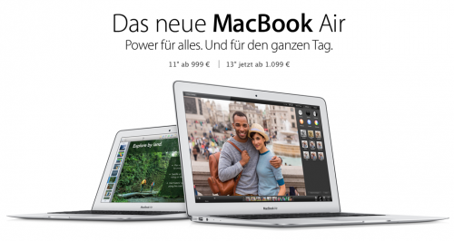 Neues MacBook Air April 2014