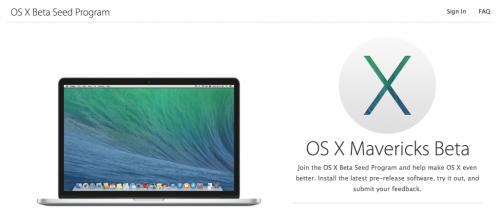 OS X Seed Programm