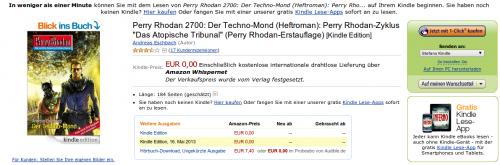 Perry Rhodan eBook gratis