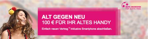 Telekom Aktion Alt gegen neu