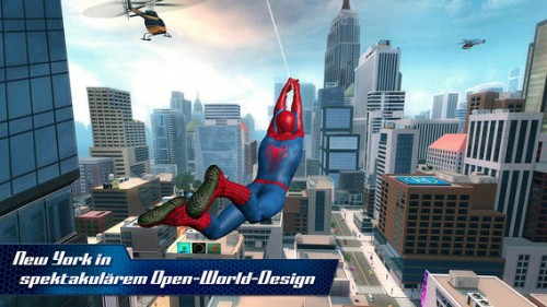 The amazing Spider-man 2 screen1