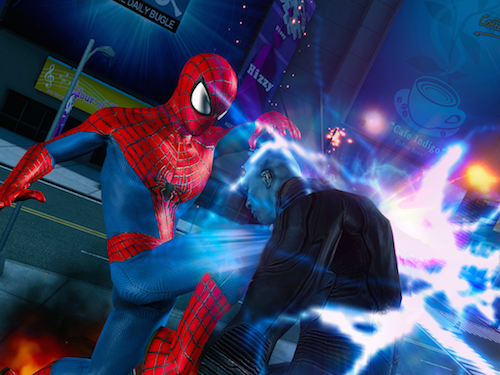 TheAmazingSpiderMan2_Spider-ManvsElectro