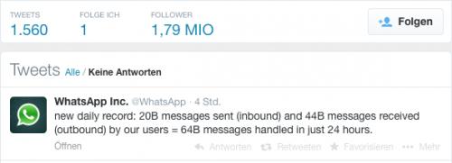 WhatsApp Rekord