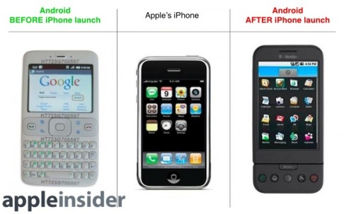 android vor iPhone