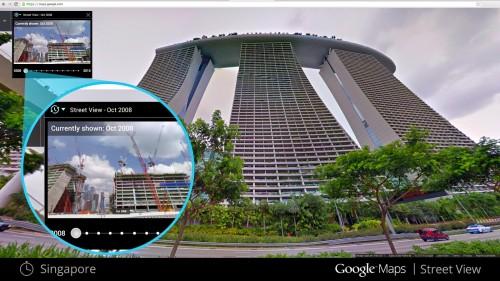 google street view zeitreise