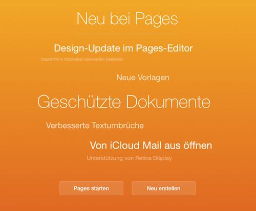 iWork Browser Update
