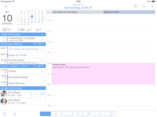 miCal iPad Foto 1