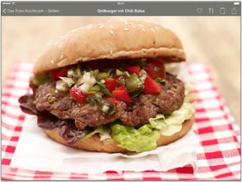 Das Foto-Kochbuch Grillen Burger