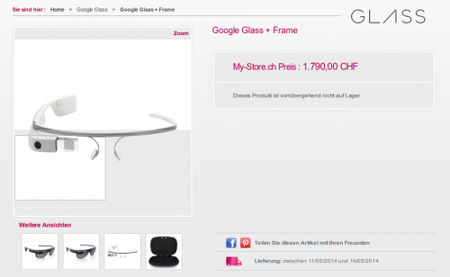 Google Glass My Store