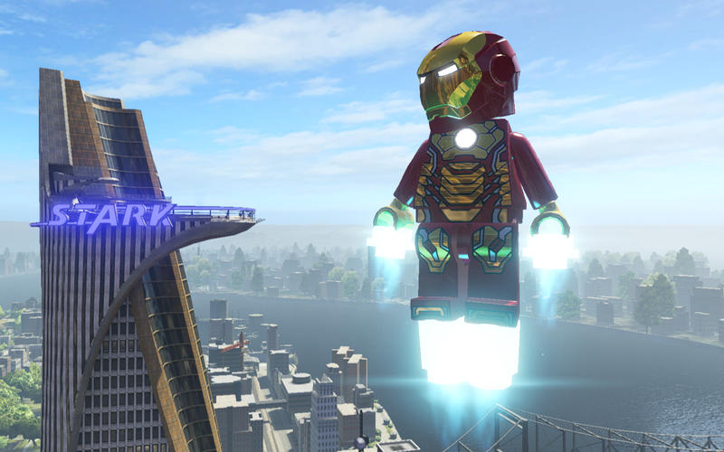 LEGO Marvel Super Heroes Screen1