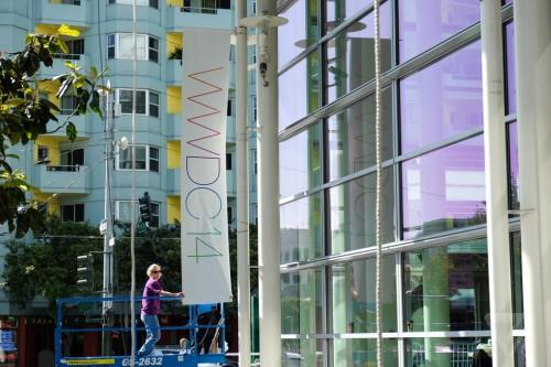 Moscone Aussen WWDC 14