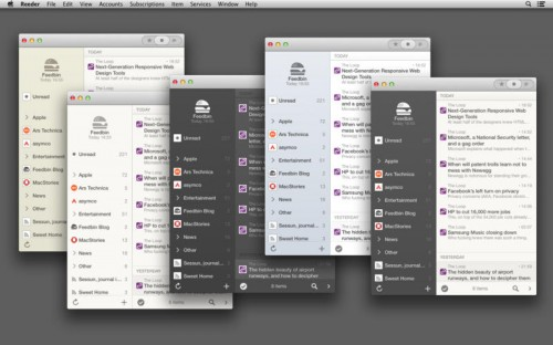 Reeder 2 Screen 2