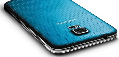 Samsung Galaxy S5 Ansicht