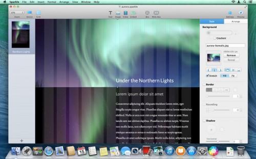 Sparkle Screen1