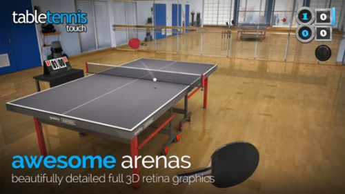 Table Tennis Touch Screen1
