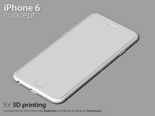 Turbosquid 3D iPhone 6 Martin Hajek