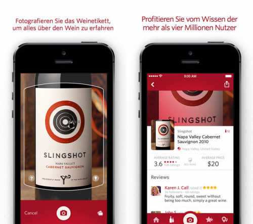 Vivino-Wein-Scanner Pro Screen1
