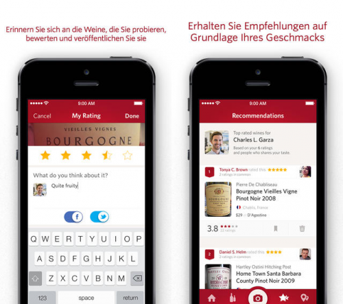 Vivino-Wein-Scanner Pro Screen2