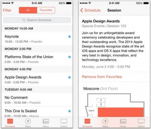 WWDC App Update