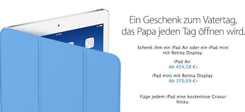 iPad Rabatt