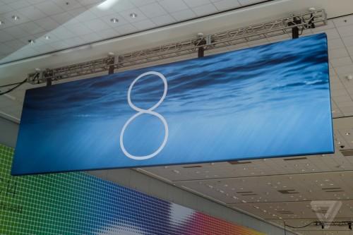 iOS 8 Banner Moscone