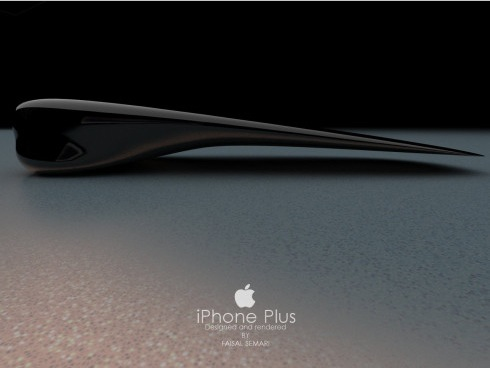 iPhone 6 iPhone Plus Konzept Ansicht
