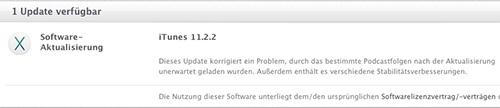 iTunes 11.2.2