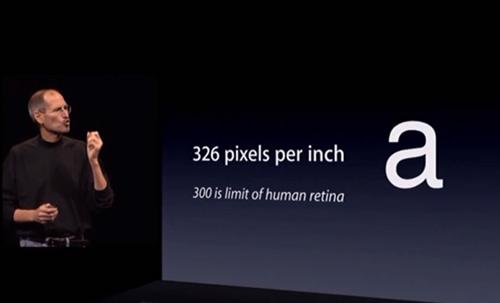 Steve Jobs/Retina