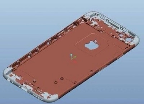 weibo gforgames iPhone 6 Rendering Mockup