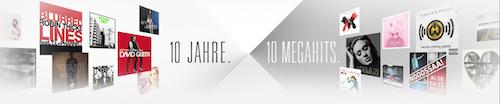 10 Jahre 10 Megahits iTunes