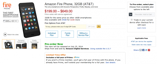 Amazon Smartphone Bild1