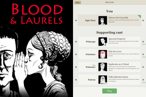 Blood and Laurels Screen1