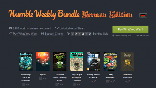 Humble Bundle German