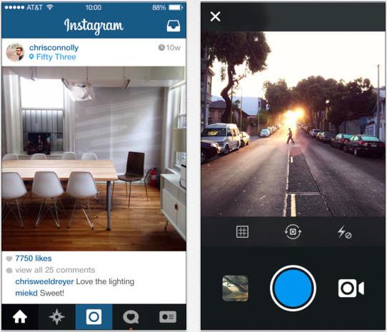 instagram update auf 6 0 das ist neu itopnews. Black Bedroom Furniture Sets. Home Design Ideas