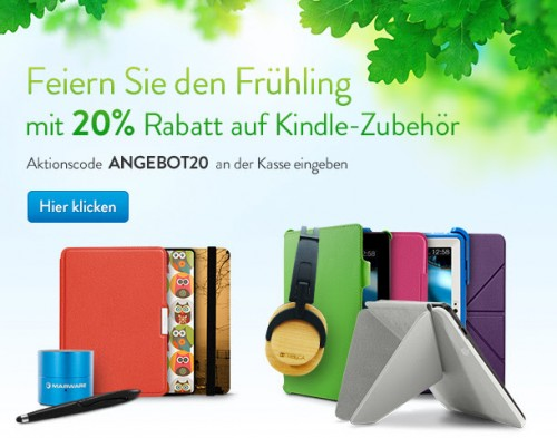 Kindle Zubehoer Sale