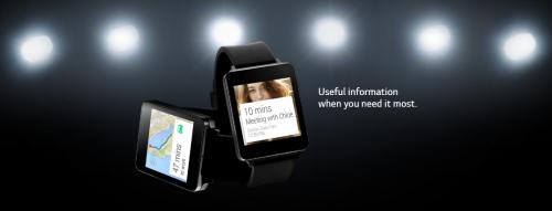 LG G Watch Bild