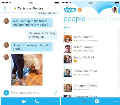 Skype neues Design 2014 9to5Mac.com