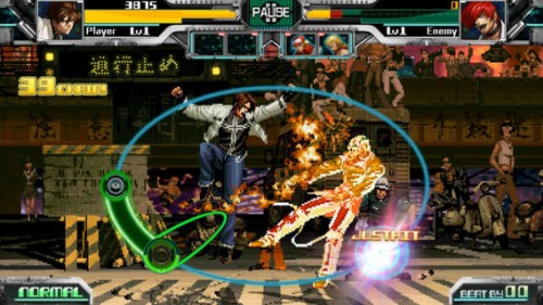 THE RHYTHM OF FIGHTERS Screen1