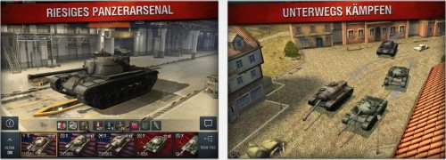 World of Tanks Ansicht