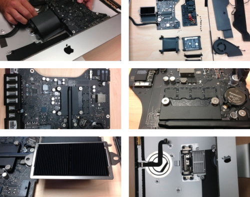 iMac Zerlegung Other World Computing