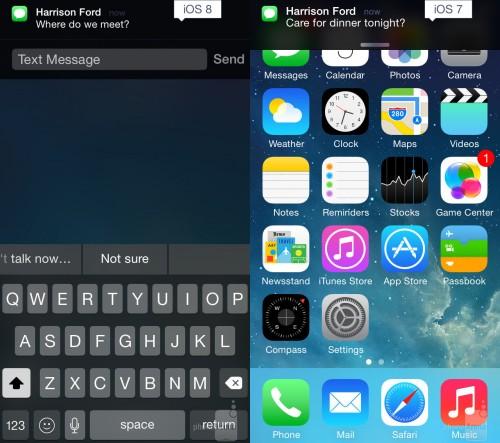 iOS 7 8 Vergleich1