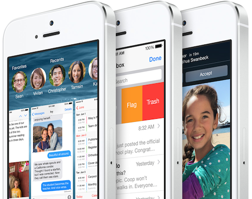 iOS 8 Ansicht Mail neu