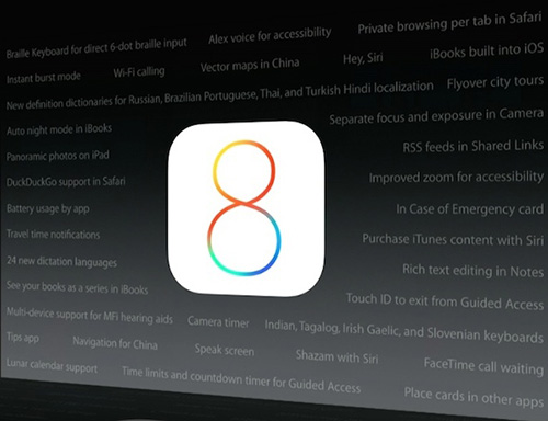 35 Features in iOS 8