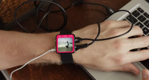 iWatch Parodie Video Bild